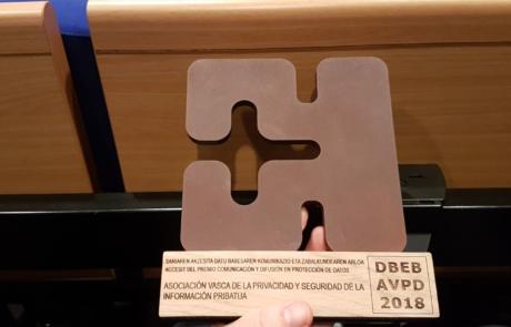 Pribatua premiada en la V edición de premios de la AVPD
