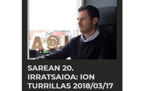 SAREAN 20 IRRATSAIOA ION TURRILLAS